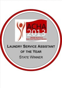 laundry service assistant of the Year state